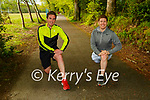 Eamon Sheehy left and John Cronin Killarney who are running a marathon to help raise funds for food parcels for the Kenya Education Project on Saturday 5th June in Killarney National Park
