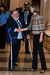 Queen Letizia of Spain attends to the council meeting of the Royal Board on Disability at Zarzuela Palace in Madrid, October 05, 2015.<br /> (ALTERPHOTOS/BorjaB.Hojas)