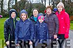Majella, Ella and Sophie Moynihan, Teresa Hanafin, Jill St John Harrington at The International Womens day walk in aid of Kerry Rape and Sexual Abuse Centre in Killarney National Park on Sunday