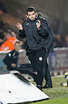 St Mirren v St Johnstone...25.03.14    SPFL<br /> Callum Davidson applauds his team<br /> Picture by Graeme Hart.<br /> Copyright Perthshire Picture Agency<br /> Tel: 01738 623350  Mobile: 07990 594431