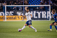 SAN JOSE, CA - MAY 01: Felipe Martins #8 of DC United controls the ball during a game between San Jose Earthquakes and D.C. United at PayPal Park on May 01, 2021 in San Jose, California.