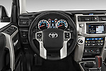 Car pictures of steering wheel view of a 2015 Toyota 4Runner Limited 5 Door SUV