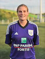 RSC Anderlecht Dames : Anne Puttemans<br /> foto David Catry / nikonpro.be