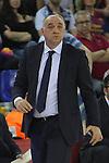 League ACB-ENDESA 2015/2016. <br /> Play-Off Final - Game 2.<br /> FC Barcelona Lassa vs Real Madrid: 70-90.<br /> Pablo Laso.