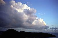 Large cloud over island&#xA;<br />