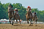 July 17, 2021:  Dr. Post #5, ridden by jockey Joel Rosario wins the Grade 3 Monmouth Cup Stakes on Haskell Invitational Day at Monmouth Park Racecourse in Oceanport, New Jersey on July 17, 2021. Scott Serio/Eclipse Sportswire/CSM