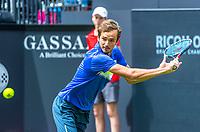 Den Bosch, Netherlands, 13 June, 2017, Tennis, Ricoh Open, Danill Medvedev (RUS)<br /> Photo: Henk Koster/tennisimages.com