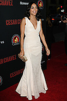 """HOLLYWOOD, LOS ANGELES, CA, USA - MARCH 20: Rosario Dawson at the Los Angeles Premiere Of Pantelion Films And Participant Media's """"Cesar Chavez"""" held at TCL Chinese Theatre on March 20, 2014 in Hollywood, Los Angeles, California, United States. (Photo by Celebrity Monitor)"""