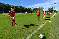 Standard Markelbach Hanne (25) pictured before a women soccer match between Standard Femina de Liege and Eendracht Aalst dames, Saturday 25 September 2021 in Liege, in the 1/16 th final of the Belgian Womens Cup 2021-2022. PHOTO BERNARD GILLET