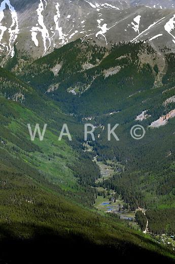 Mountain valley near Crested Butte, Colorado