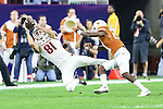 Arkansas Razorbacks wide receiver Cody Hollister (81) in action during the Advocare V100 Texas Bowl game between the Arkansas Razorbacks and the Texas Longhorns at the NRG Stadium in Houston, Texas. Arkansas defeats Texas 31 to 7.