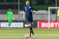 WIENER NEUSTADT, AUSTRIA - MARCH 25: John Brooks #6 of the United States during a game between Jamaica and USMNT at Stadion Wiener Neustadt on March 25, 2021 in Wiener Neustadt, Austria.
