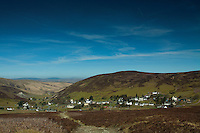 Wanlockhead from Lowther Hill, Dumfries & Galloway