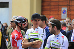 Warren Barguil (FRA) Team Fortuneo-Samsic at sign on before the start of the 99th edition of Milan-Turin 2018, running 200km from Magenta Milan to Superga Basilica Turin, Italy. 10th October 2018.<br /> Picture: Eoin Clarke | Cyclefile<br /> <br /> <br /> All photos usage must carry mandatory copyright credit (© Cyclefile | Eoin Clarke)