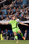 Sebastian Coates of Sporting Portugal in action during their 2016-17 UEFA Champions League match between Real Madrid vs Sporting Portugal at the Santiago Bernabeu Stadium on 14 September 2016 in Madrid, Spain. Photo by Diego Gonzalez Souto / Power Sport Images