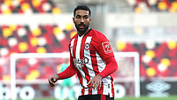 Saman Ghoddos of Brentford during Brentford vs Fulham, Caraboa Cup Football at the Brentford Community Stadium on 1st October 2020