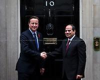 05.11.2015 - The President of Egypt Abdel Fattah el-Sisi at 10 Downing Street