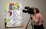 Roy Lichtenstein -  major retrospective at the Tate Modern .opens 21.2.13.....Pic by Gavin Rodgers/Pixel 8000 Ltd