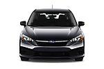 Car photography straight front view of a 2021 Subaru Impreza - 5 Door Hatchback Front View