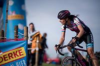 Hellen Wyman (GBR/Kona)<br /> <br /> Women's race<br /> Koppenbergcross / Belgium 2017