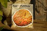 Vegetable seed storage, peanut pumpkin