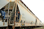 """FEATURES-Central American migrants board the train known as """"the beast"""" in Mexico"""