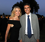 GABRIELLA CARLUCCI CON IL MARITO MARCO CATELLI