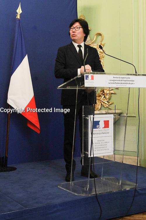 Jean-vincent PlacÈ - Clarification sur le bulletin de salaire - Paris, France - 20/02/2017