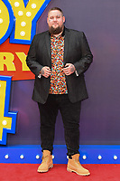 """LONDON, UK. June 16, 2019: Rag n Bone Man arriving for the """"Toy Story 4"""" premiere at the Odeon Luxe, Leicester Square, London.<br /> Picture: Steve Vas/Featureflash"""