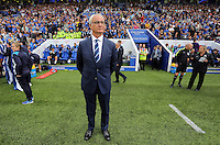 Pictured: Leicester manager Claudio Ranieri Saturday 27 August 2016<br />