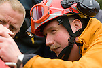Urban Search and Rescue demonstration in Swansea today. The USAR is managed by the Chief Fire Officers Association (CFOA) on behalf of the UK Government.