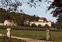 Europe/France/Midi-Pyrénées/46/Lot/Vallée du Lot/Env de Luzech: Vignoble de Cahors - château de Caix
