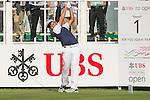 Hung Chien-yao of Taiwan tees off the first hole during the 58th UBS Hong Kong Golf Open as part of the European Tour on 08 December 2016, at the Hong Kong Golf Club, Fanling, Hong Kong, China. Photo by Marcio Rodrigo Machado / Power Sport Images