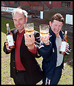 """6th May 98          Copyright Pic : James Stewart   .ALEX TOTTEN AND KEVIN MCALLISTER RAISE THEIR GLASSES TO LAUNCH THE NEW LIMITED EDITION WHISKY """"A TOT OF TOTTEN"""" AND """"THE MCALLISTER"""" WHICH HAVE BEEN PRODUCED TO HELP THE BACK THE BAIRNS FUND....... .(COPY FROM JIM DAVIS)......Payments to :-.James Stewart Photo Agency, Stewart House, Stewart Road, Falkirk. FK2 7AS      Vat Reg No. 607 6932 25.Office : 01324 630007        Mobile : 0421 416997.If you require further information then contact Jim Stewart on any of the numbers above........."""