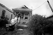 New Orleans, Louisiana<br /> July 27, 2006<br /> <br /> The Common-Ground, an organization of mostly out-of-state volunteers, gut a home for free in the 5th ward, an area that was heavily damaged by flooding after hurricane Katrina hit and broke the levees.