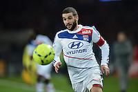 Lisandro Lopez (Lyon)  .Football Calcio 2012/2013.Ligue 1 Francia.Foto Panoramic / Insidefoto .ITALY ONLY