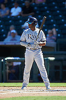 Peoria Javelinas Justin Williams (25), of the Tampa Bay Rays organization, during a game against the Surprise Saguaros on October 20, 2016 at Surprise Stadium in Surprise, Arizona.  Peoria defeated Surprise 6-4.  (Mike Janes/Four Seam Images)