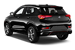 Car pictures of rear three quarter view of a 2020 Buick Encore GX Select 5 Door SUV angular rear