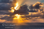 Storm Clouds, Sunset, Golden Gate National Recreation Area, Marin County, California