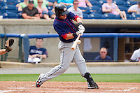 Jason Martinson #11 of the Hagerstown Suns makes contact with the baseball during the game against the Rome Braves at State Mutual Stadium on May 1, 2011 in Rome, Georgia.   Photo by Brian Westerholt / Four Seam Images