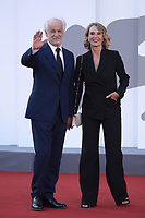 Toni Servillo and Manuela Lamanna attending the Closing Ceremony Red Carpet as part of the 78th Venice International Film Festival in Venice, Italy on September 11, 2021. <br /> CAP/MPI/IS/PAC<br /> ©PAP/IS/MPI/Capital Pictures