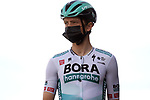 Ide Schelling (NED) Bora-Hansgrohe at sign on before Stage 5 of the 100th edition of the Volta Ciclista a Catalunya 2021, running 201.1km from La Pobla de Segur to Manresa, Spain. 26th March 2021.   <br /> Picture: Bora-Hansgrohe/Luis Angel Gomez/BettiniPhoto | Cyclefile<br /> <br /> All photos usage must carry mandatory copyright credit (© Cyclefile | Bora-Hansgrohe/Luis Angel Gomez/BettiniPhoto)