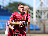 Kerim Mrabti (19) of KV Mechelen pictured during a friendly soccer game between KV Mechelen and the Greek Volos NFC during the preparations for the 2021-2022 season , on saturday 17 of July 2021 in GEEL , Belgium . PHOTO SEVIL OKTEM | SPORTPIX