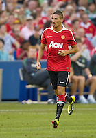 July 16, 2010 Federico Macheda No. 27during an international friendly between Manchester United and Celtic FC at the Rogers Centre in Toronto.