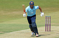 Sir Alastair Cook of Essex in sets off for a quick single during Essex Eagles vs Cambridgeshire CCC, Domestic One-Day Cricket Match at The Cloudfm County Ground on 20th July 2021