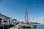 Public enjoy the village during the Volvo Ocean Race 2014-2015 Leg 4 Sanya to Auckland stop-over at the Shed 10 Cruise Ship Terminal on 13 March 2015 in Auckland, New Zealand. Photo by Victor Fraile / Power Sport Images