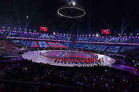 OLYMPIC GAMES: PYEONGCHANG: 09-02-2018, PyeongChang Olympic Stadium, Olympic Games, Opening Ceremony, Entrance Norway, ©photo Martin de Jong