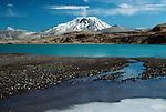 Mt. Griggs volcano, Valley of 10,000 Smokes, Katmai National Park, Alaska