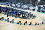 Riders compete  in the Women's Points Race 25 km Final during the 2017 UCI Track Cycling World Championships on 16 April 2017, in Hong Kong Velodrome, Hong Kong, China. Photo by Chris Wong / Power Sport Images