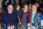 Jerry Byrne, Yvonne Broughan, Jane Byrne and MArtina Byrne enjoying grandparents day in Fossa NS on Friday